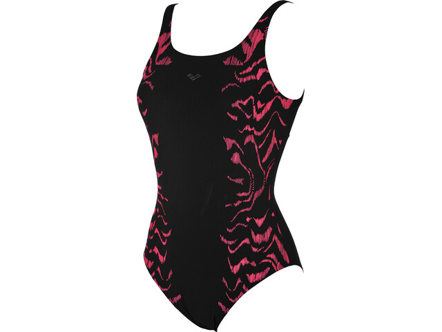 arena Jessica Wing Back One Piece Swimsuit Women black